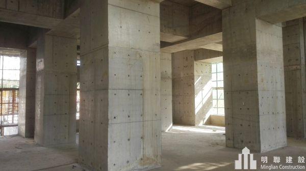 7#楼主体结构已分别施工至九层